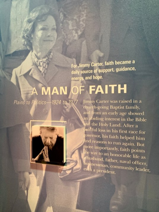 Jimmy Carter Faith Exhibit - A Visit to the Jimmy Carter Presidential Library and Museum
