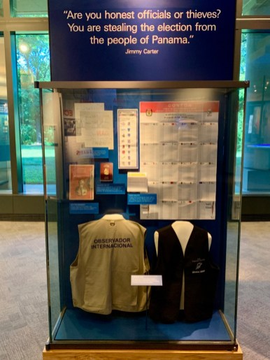 Jimmy Carter Supervise Elections - A Visit to the Jimmy Carter Presidential Library and Museum