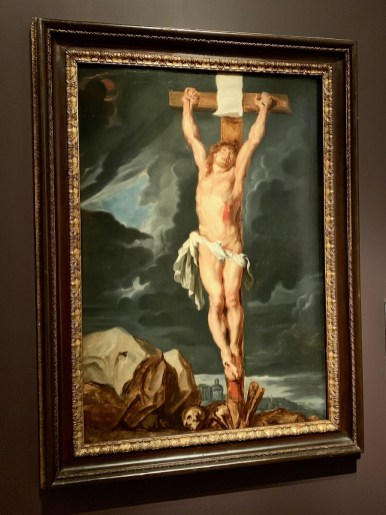 Rubens Christ on the Cross painting