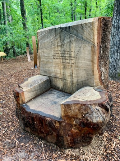 Tree Chair - 18+ Outstanding Athens Georgia Attractions