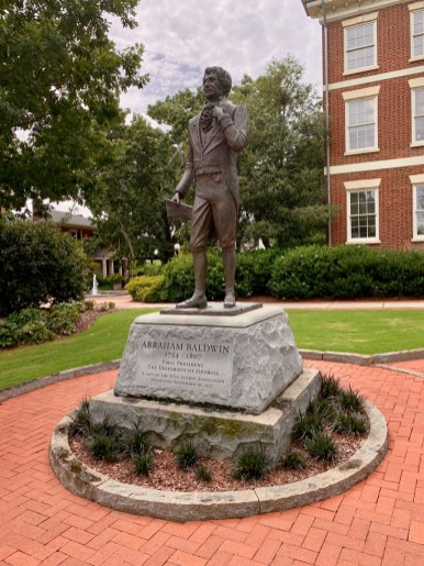 UGA Abraham Baldwin Statue - 18+ Outstanding Athens Georgia Attractions