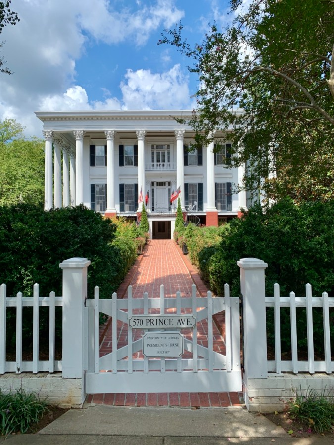 UGA Presidents House Athens - 18+ Outstanding Athens Georgia Attractions