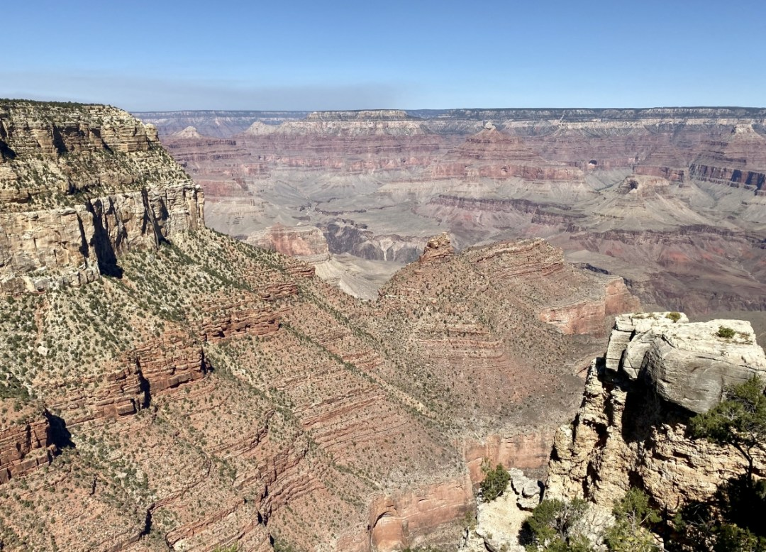 Grand Canyon South Rim view - Take the Train to Grand Canyon National Park: An Insider's Guide