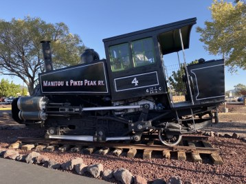 Manitou Pikes Peak steam engine - Take the Train to Grand Canyon National Park: An Insider's Guide