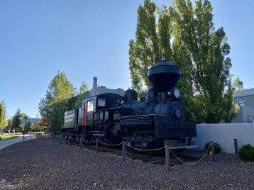Shay No. 5 locomotive - Take the Train to Grand Canyon National Park: An Insider's Guide