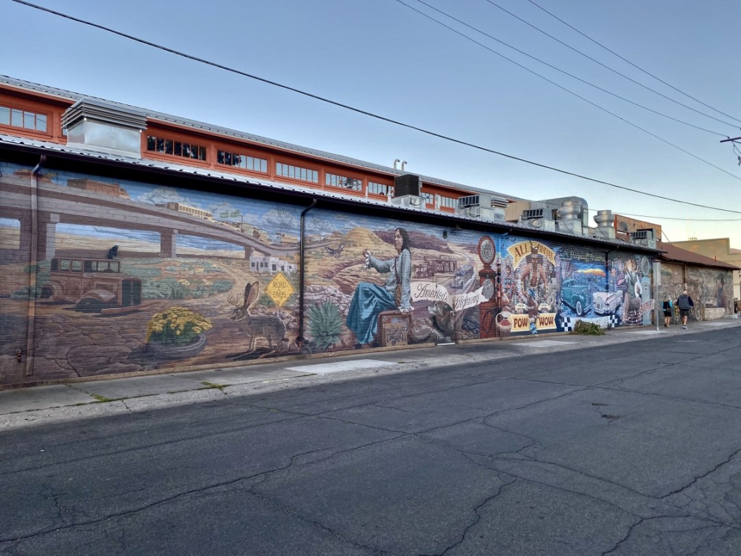 Mother Myth Mural Flagstaff - Tour Flagstaff Attractions On Your Own