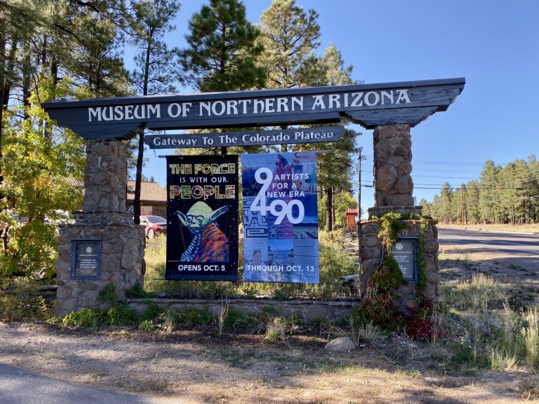 Museum of Northern Arizona sign - Tour Flagstaff Attractions On Your Own