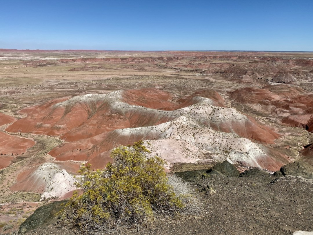 Painted Desert Kachina Point view - Drive the Painted Desert & Petrified Forest National Park