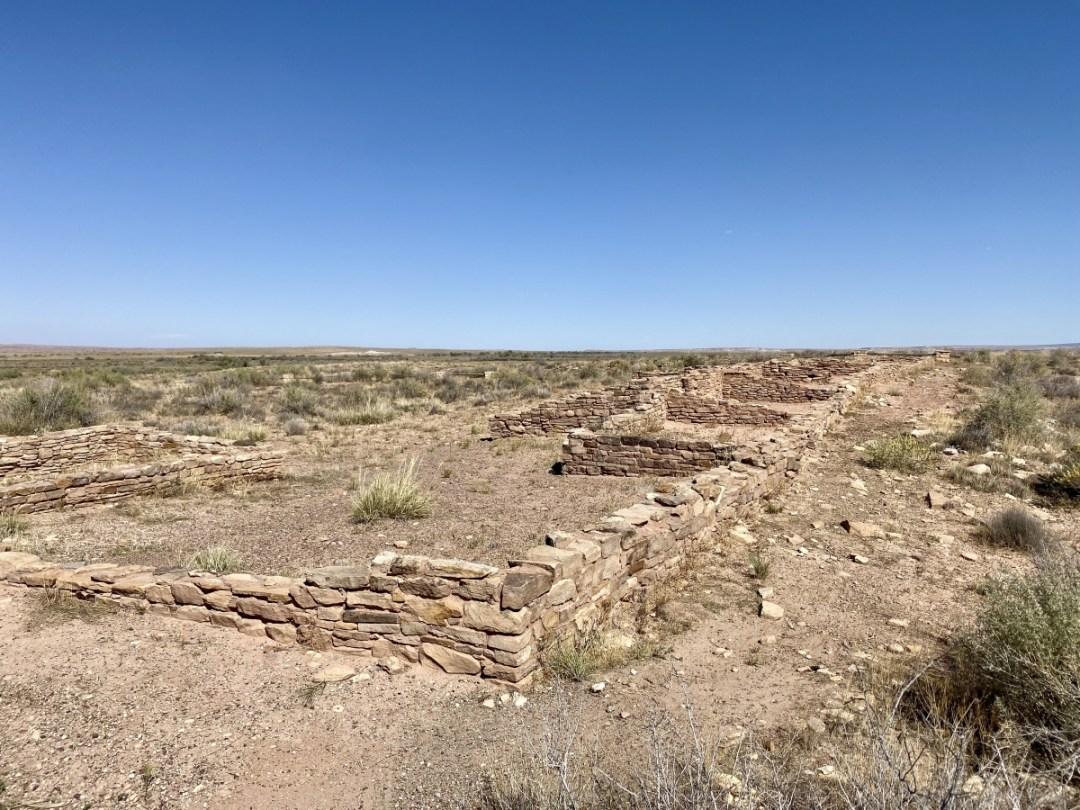 Puerco Pueblo - Drive the Painted Desert & Petrified Forest National Park