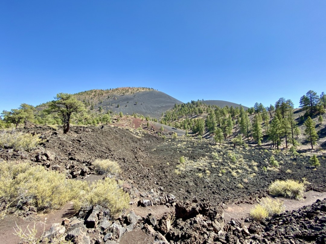 Sunset Crater from Lava Flow Trail - 3 Magnificent Flagstaff National Monuments