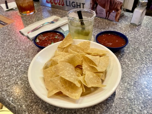 Bojos Grill chips salsa margarita - Tons of Fun Things to Do in Winslow Arizona