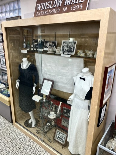 Harvey Girl uniform - Tons of Fun Things to Do in Winslow Arizona