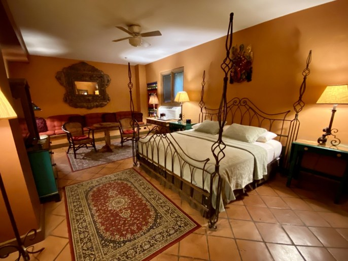 La Posada guestroom - Tons of Fun Things to Do in Winslow Arizona