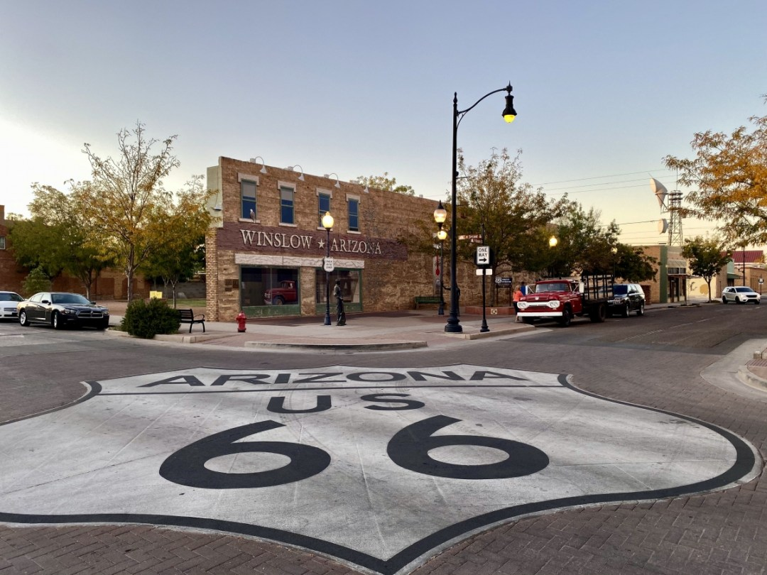 Route 66 Street Mural Winslow AZ - Tons of Fun Things to Do in Winslow Arizona