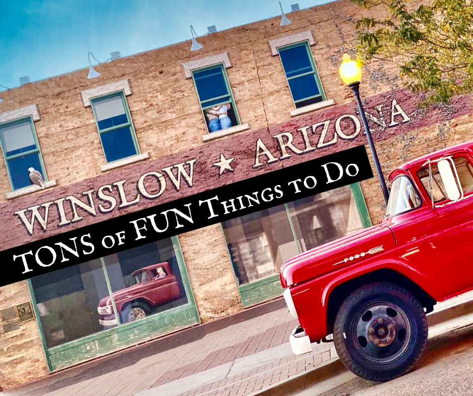 Things to Do in Winslow Arizona featured - Backroad Blog