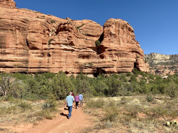 Trail to Honanki ruins - 3 Stunning Sedona Scenic Drives