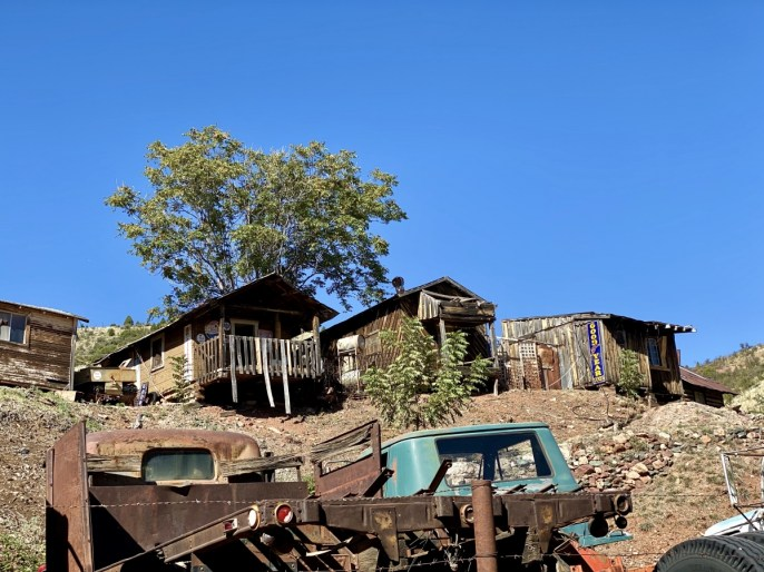 Gold King Mine shacks - 7+ Amazing Attractions in Verde Valley AZ
