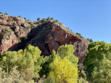 Native American cave - Ride Arizona's Verde Canyon Railroad