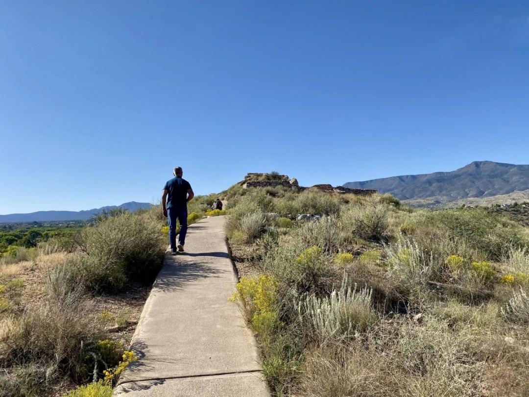 Path to Tuzigoot Pueblo - 7+ Amazing Attractions in Verde Valley AZ