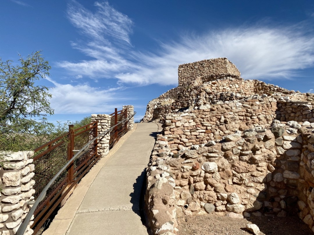Path to top of Tuzigoot Pueblo - 7+ Amazing Attractions in Verde Valley AZ
