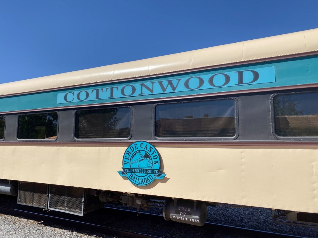 Verde Canyon Railroad Cottonwood car - Ride Arizona's Verde Canyon Railroad