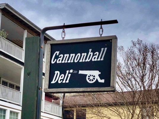 Cannonball Deli Sign - Things to Do in Harpers Ferry WV: History, Hikes & Whitewater