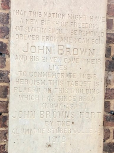 John Browns Firehouse Plaque - Things to Do in Harpers Ferry WV: History, Hikes & Whitewater