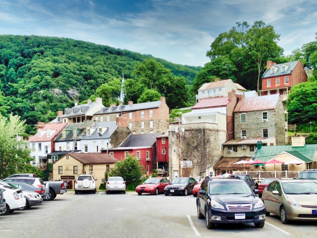 Lower Town parking - Things to Do in Harpers Ferry WV: History, Hikes & Whitewater
