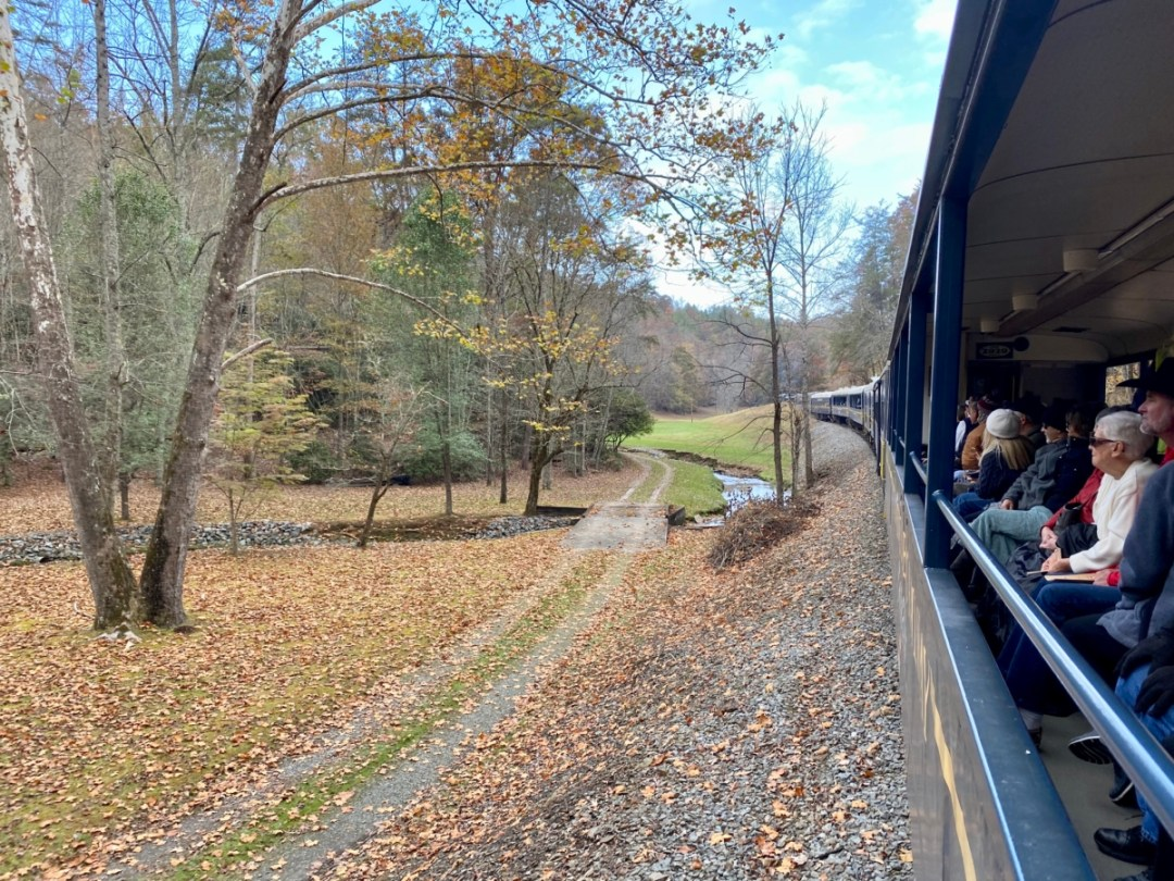 Blue Ridge Scenic Railway view - Hop a Scenic Mountain Train in Blue Ridge, Georgia