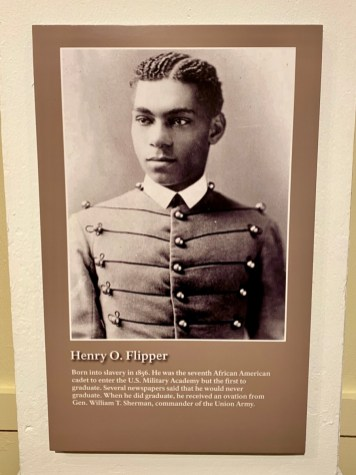 Henry Flipper panel - Explore African American Heritage Sites in Hattiesburg MS
