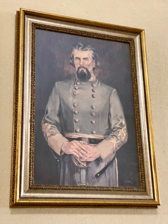 Nathan Bedford Forrest portrait Hattiesburg MS - Explore African American Heritage Sites in Hattiesburg MS