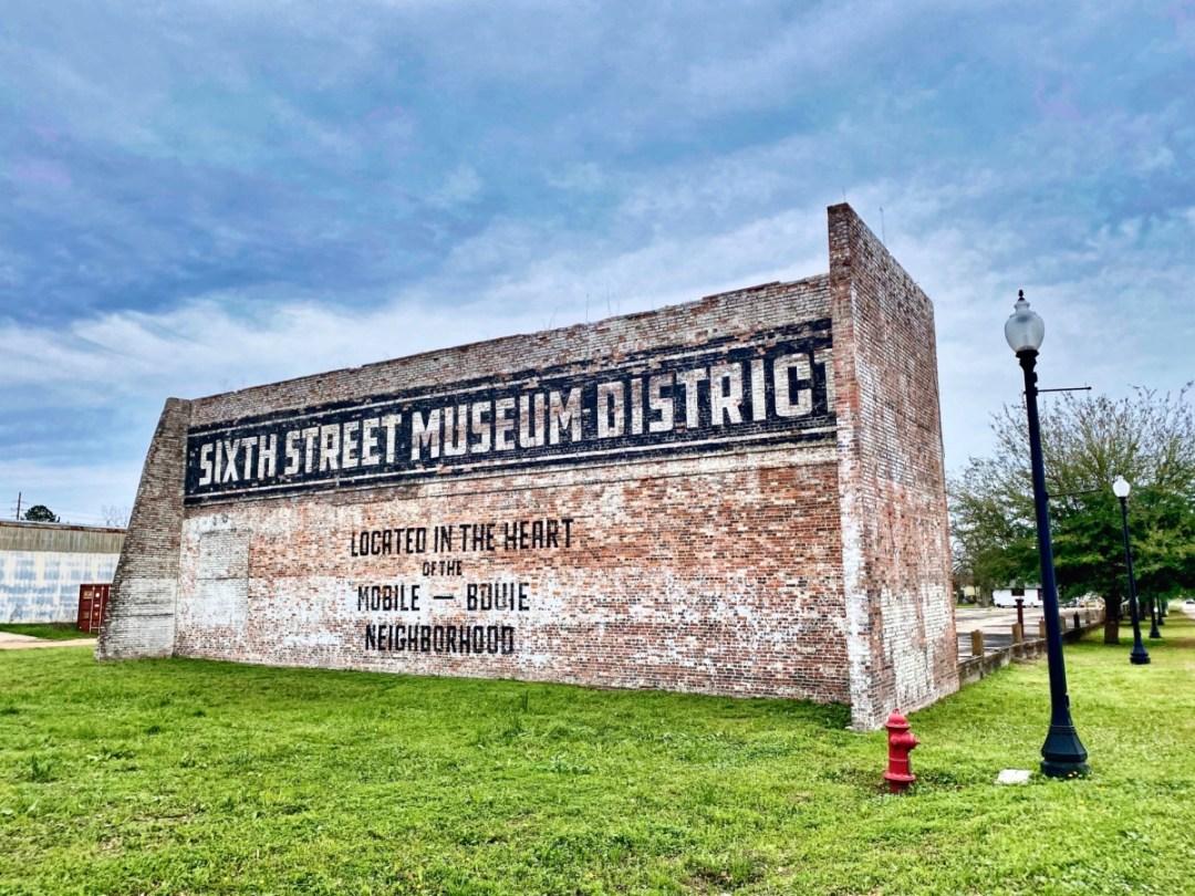 Sxth Street Museum District sign - Explore African American Heritage Sites in Hattiesburg MS