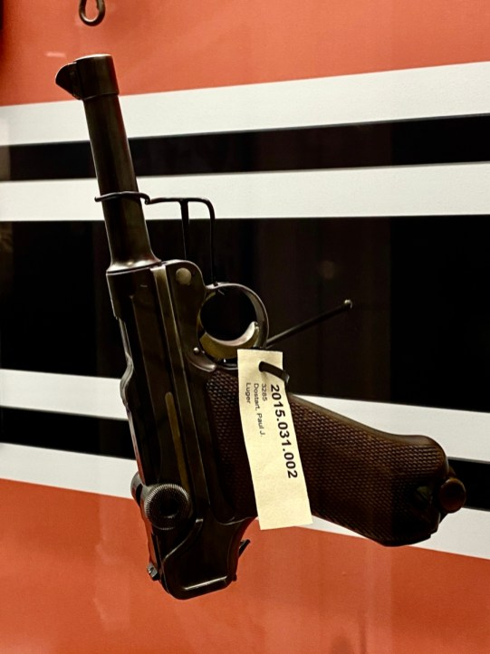 Mauser G Luger P 08 - Visit the Mississippi Armed Forces Museum at Camp Shelby