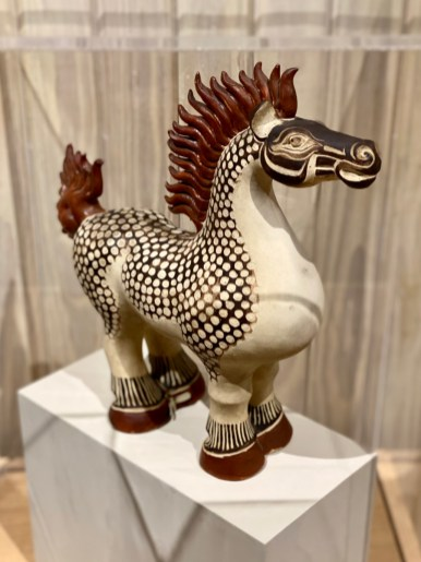 Walter Anderson ceramic Chesty Horse - Meet Three Unconventional Coastal Mississippi Artists
