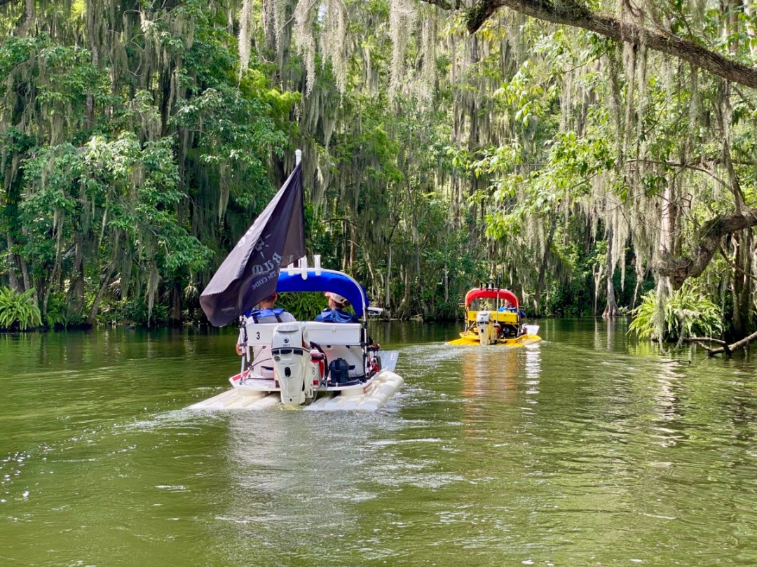 CatBoats on Dora Canal - Discover Lake County Florida Outdoor Adventures