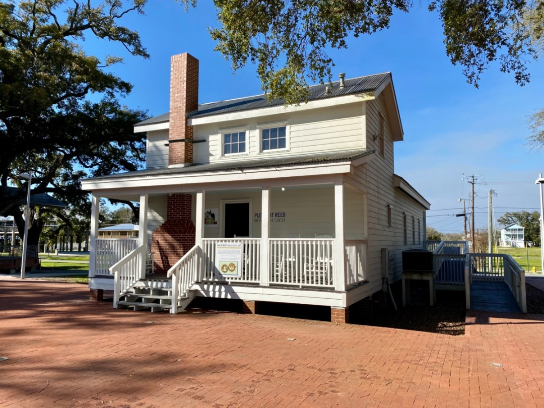 Pleasant Reed House front - Discover Coastal Mississippi's African American Heritage