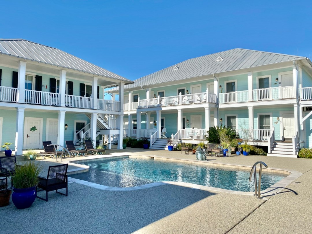 Bay Town Inn accommodations - 10 Distinctive Places to Stay in Coastal Mississippi