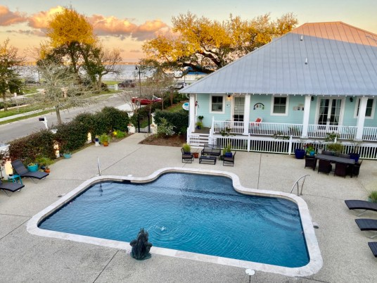 Bay Town Inn pool - 10 Distinctive Places to Stay in Coastal Mississippi
