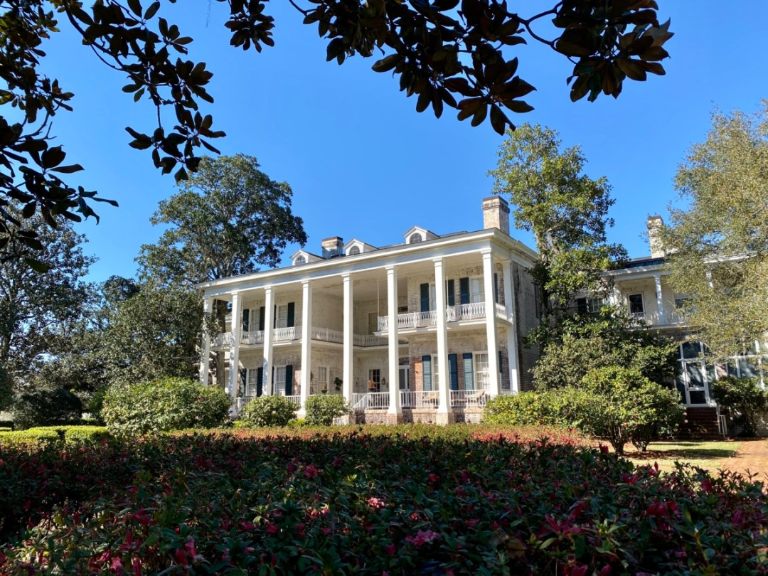 Pebble Hill Plantation main house - Encounter Historic Quail Hunt Plantations in Thomasville GA