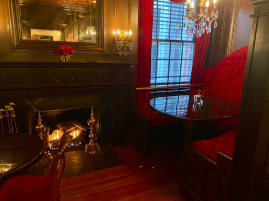 South Eden Scarletts fireplace - Encounter Historic Quail Hunt Plantations in Thomasville GA