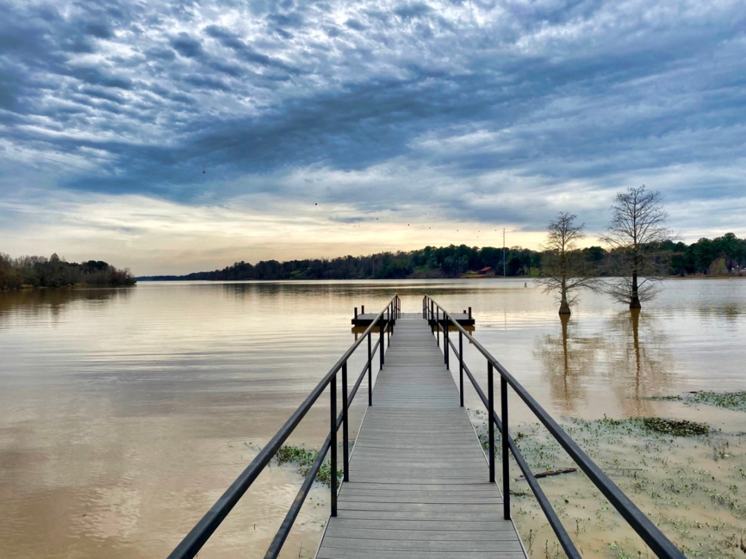 Barbour Creek dock Eufaula AL - Outdoor & Historical Things to Do in Eufaula Alabama