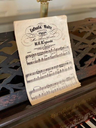 Eufaula Waltz vintage sheet music - Outdoor & Historical Things to Do in Eufaula Alabama