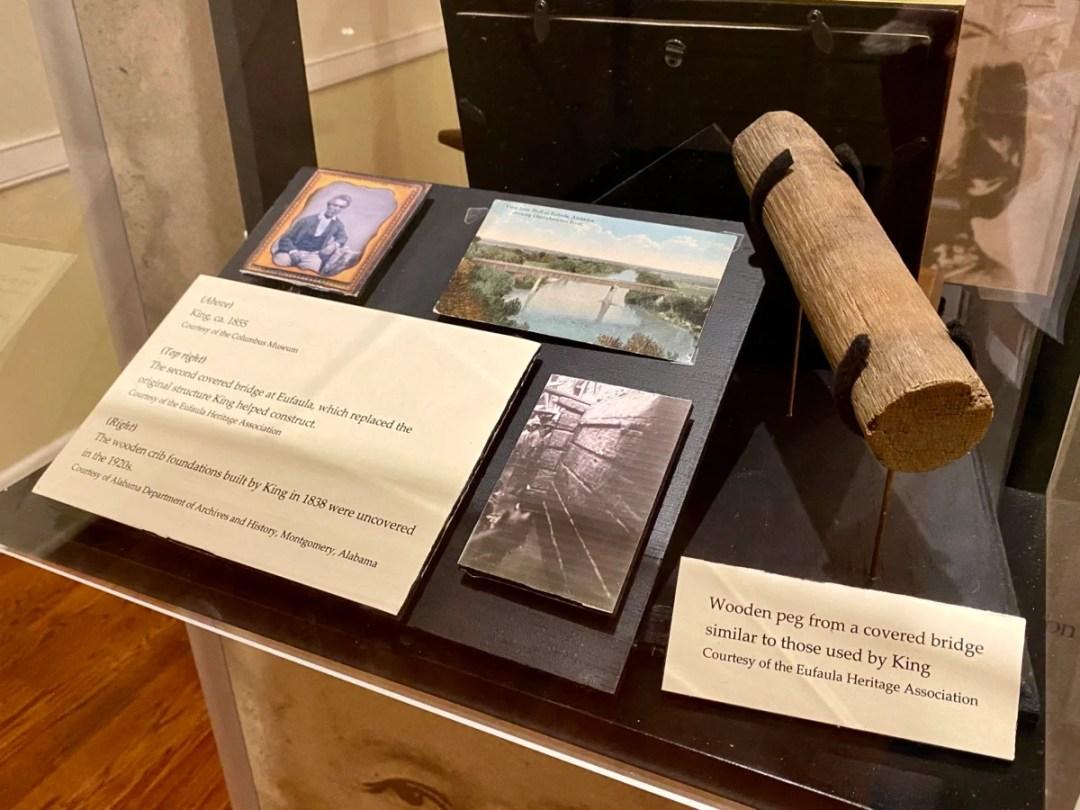 Horace King exhibit Eufaula - Outdoor & Historical Things to Do in Eufaula Alabama