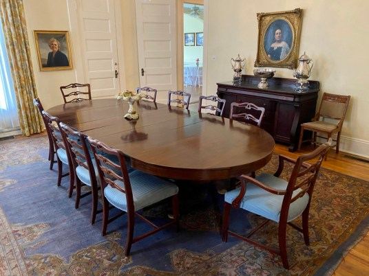 Shorter Mansion dining room - Outdoor & Historical Things to Do in Eufaula Alabama