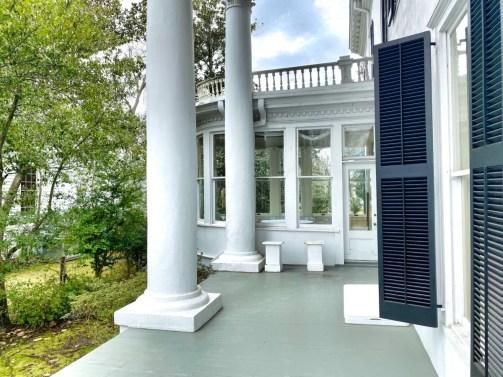 Shorter Mansion porch solarium - Outdoor & Historical Things to Do in Eufaula Alabama