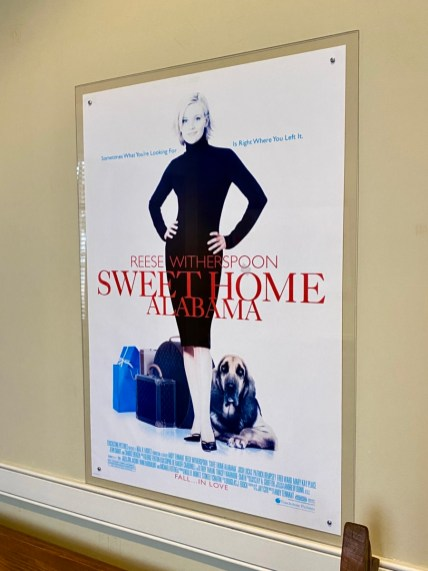 Sweet Home Alabama movie poster - Outdoor & Historical Things to Do in Eufaula Alabama