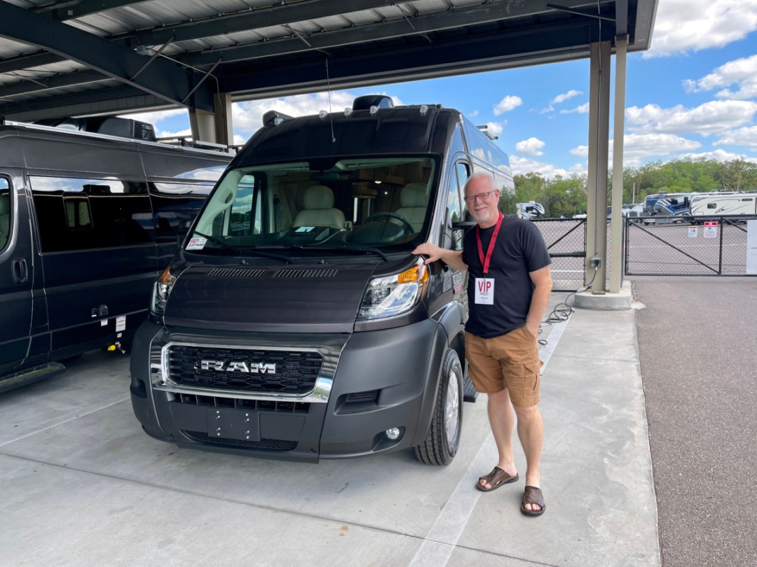 Howard with Thor Sequence - A Guide for Buying a Camper Van: My Story & Lessons Learned