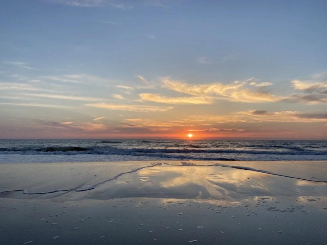 Ormond Beach Sunrise - Florida's Tomoka State Park Camping, Recreation & History