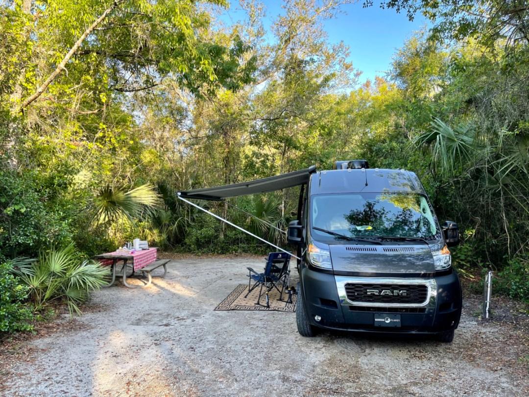 Blue Spring State Park campsite - Discover Florida's Blue Spring State Park & Campground