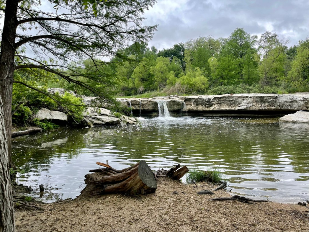 Lower McKinney Falls swimming hole - Plan an Unforgettable McKinney Falls State Park Camping Trip